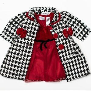 Blueberi Blvd Baby Girl 2pc Dress Set 12m
